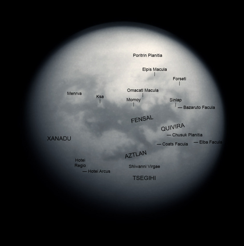 Titan geography around Fensal-Aztlan