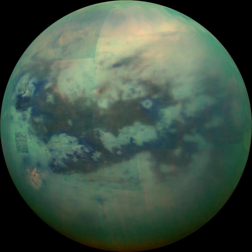 Peering through Titan's haze
