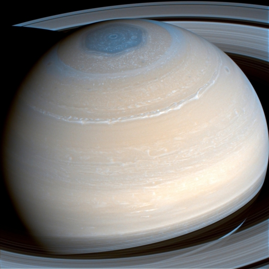 Saturn in infrared