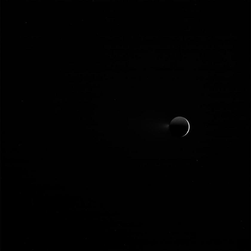 Enceladus on Feb. 8, 2017