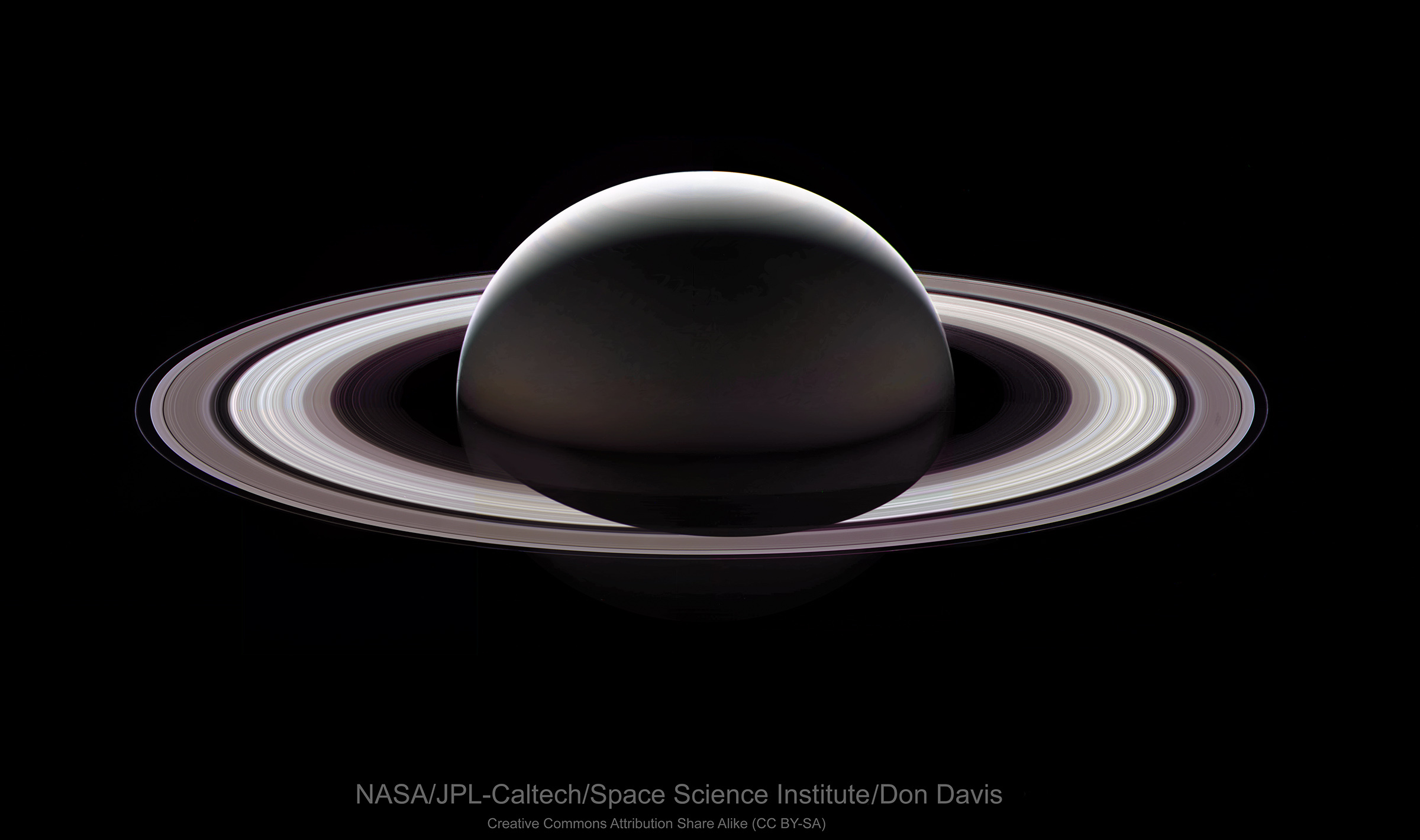 The last look at saturn from the cassini spacecraft the planetary click to view full image altavistaventures Images