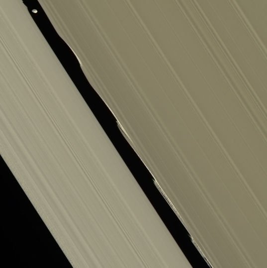 Daphnis in the Keeler Gap