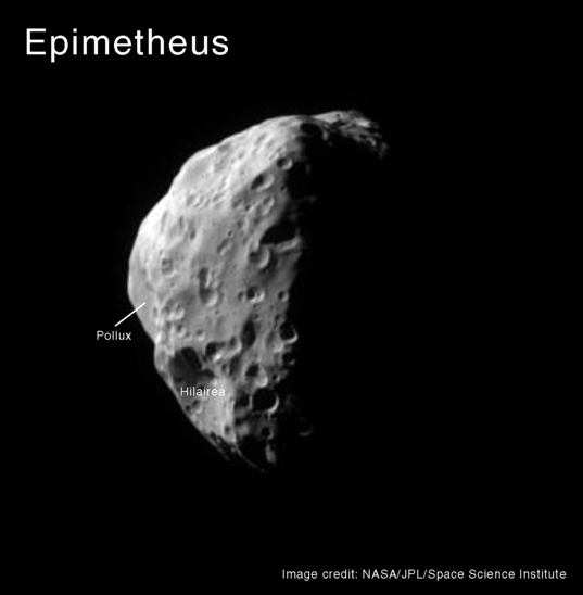 Photo of Epimetheus with place names