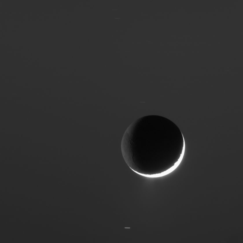 Enceladus: light from many sources