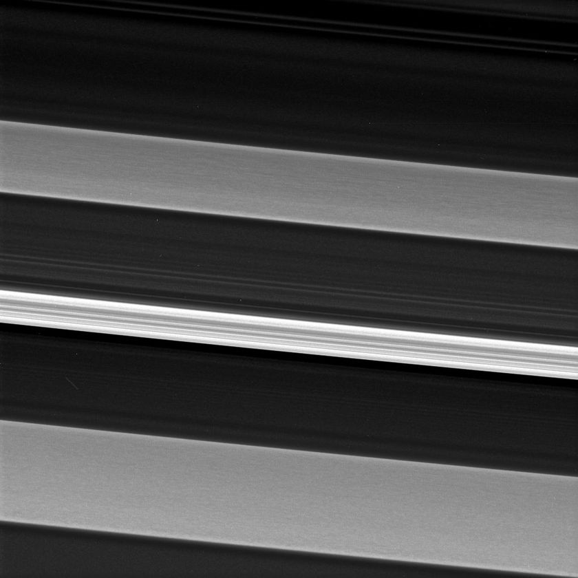 Resonances and plateaus in Saturn's C ring