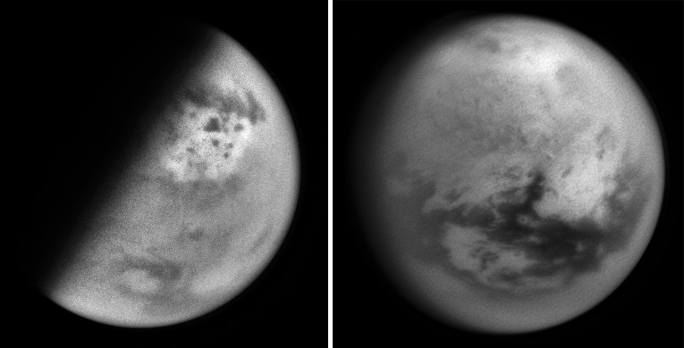 Global views of Titan used as albedo references