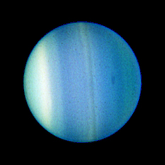 New dark spot on Uranus