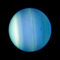 New dark spot on Uranus