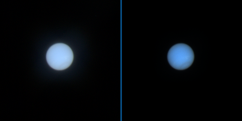 Neptune from Hubble, August 28, 2010