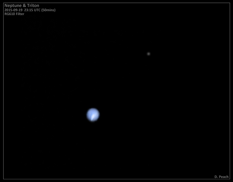 Stormy Neptune and Triton, September 19, 2015