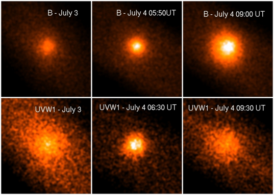 The Deep Impact Impact onto Tempel 1 as witnessed by XMM-Newton