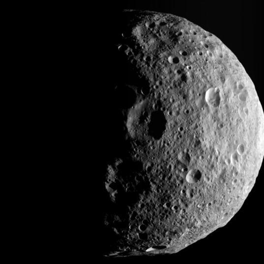 Vesta's North Pole