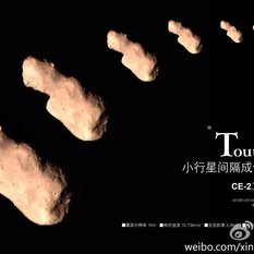 Chang'E 2 images of Toutatis