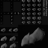 Galileo's complete Gaspra image catalog