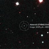 Precovery image of (274860) Emilylakdawalla