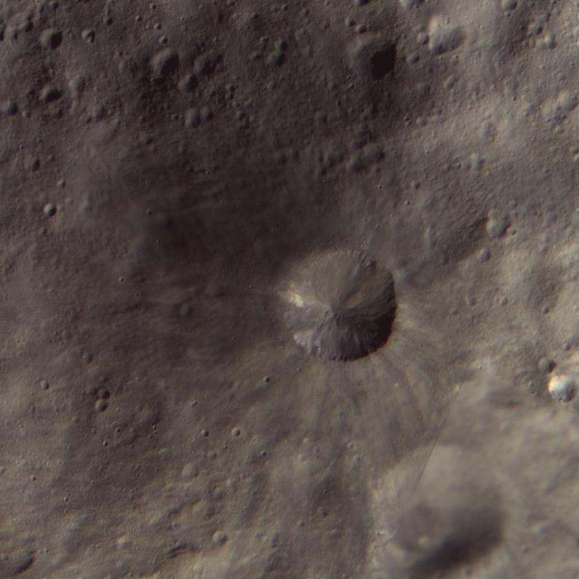 Aricia Tholus, Vesta (detail)