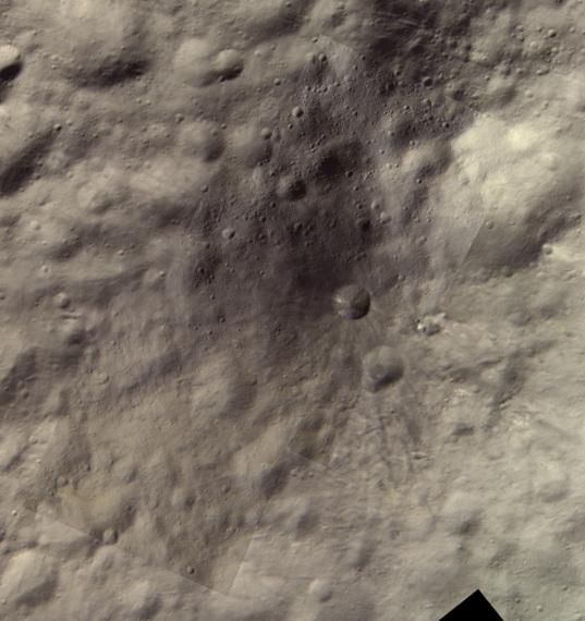 Aricia Tholus, Vesta
