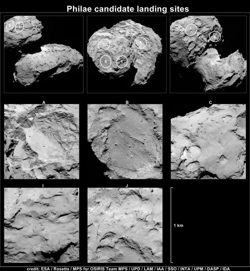 Rosetta : atterrissage et mission de Philae (Sujet N°1) 20140825_UuPtltP_f840