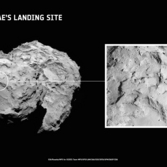 Philae's selected landing site