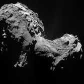 Finding jets in the September 19, 2014 NavCam image of comet 67P