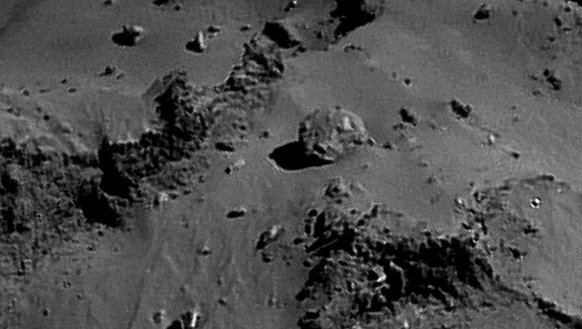 Rosetta NavCam 67P Sep 14, 2014 detail #8
