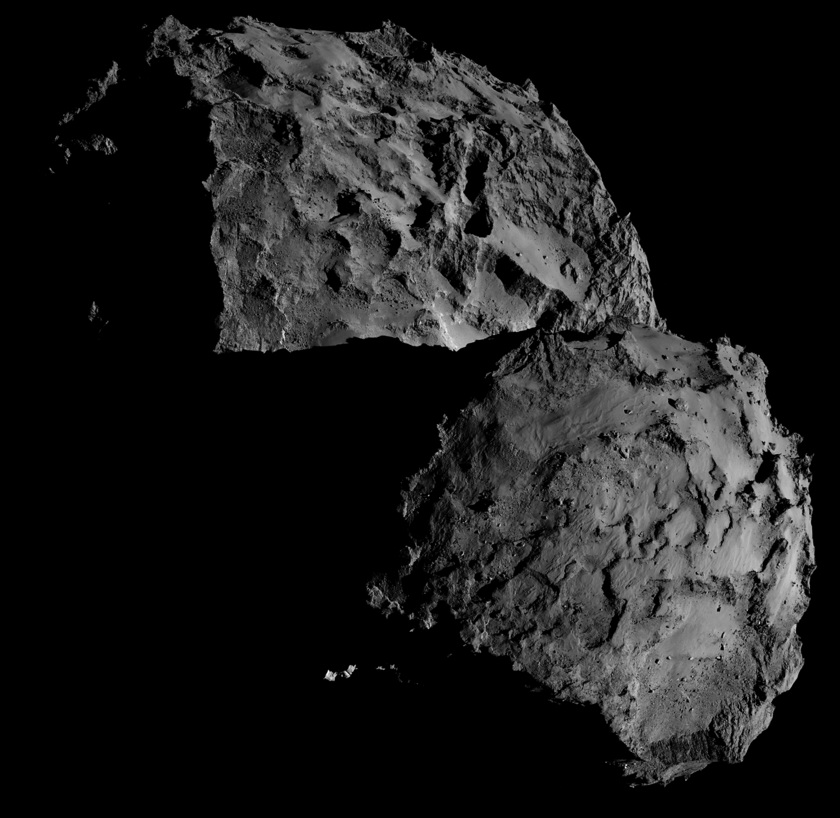 Comet 67P, sharpened