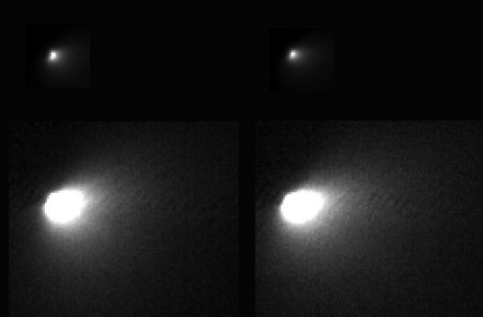 Mars Reconnaissance Orbiter HiRISE spies comet Siding Spring