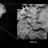 Locating the Philae landing site