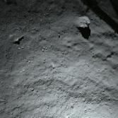 ROLIS view of Churyumov-Gerasimenko from 40 meters altitude