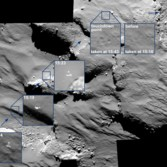 OSIRIS sees Philae multiple times during landing