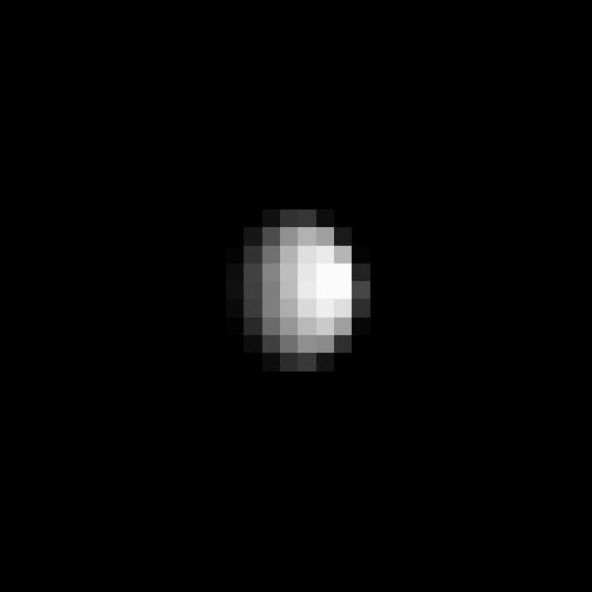 Dawn's view of Ceres on December 1, 2014 (detail)