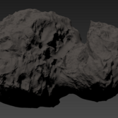 Shapemodel of Comet 67P/Churyumov–Gerasimenko