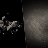 Asteroid 2011 MD artist's concepts