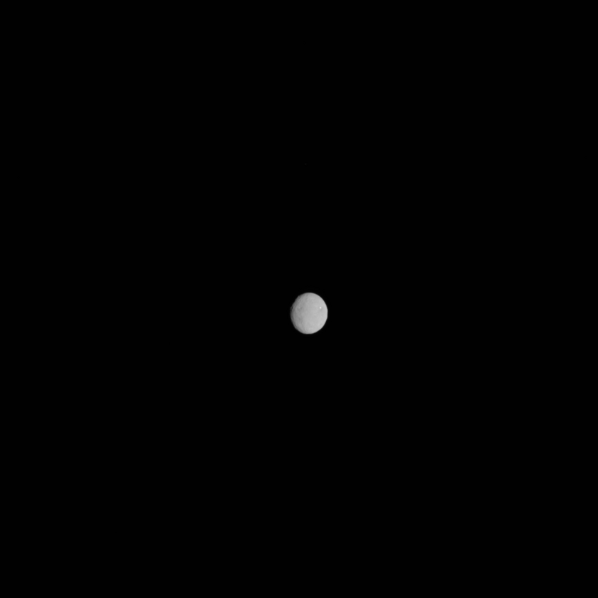 Dawn's view of Ceres on February 4, 2015