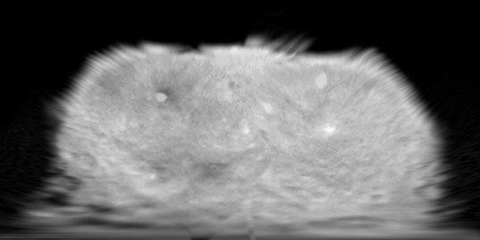 Cylindrical map of Dawn's third set of optical navigation images