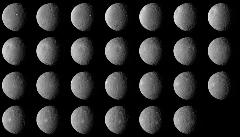 Dawn's Ceres Rotation Characterization 2 (individual frames)