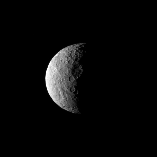 Ceres in profile