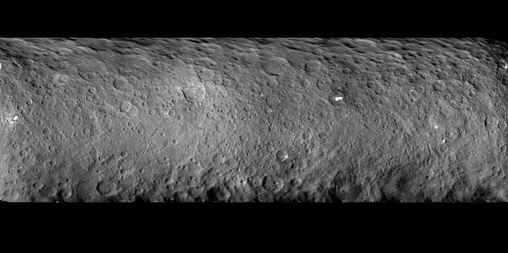 Dawn's first map of Ceres