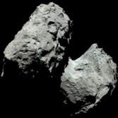 Color portrait of comet Churyumov-Gerasimenko