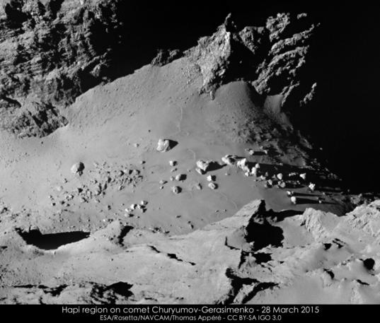 The boulders of Hapi