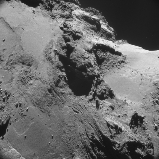 Comet close-up, October 2014