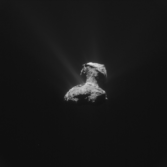 Active comet, April 2015