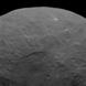 Conical mountain on Ceres
