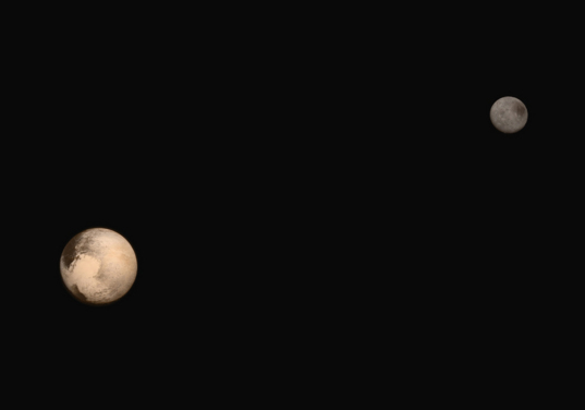 Portrait of Pluto and Charon