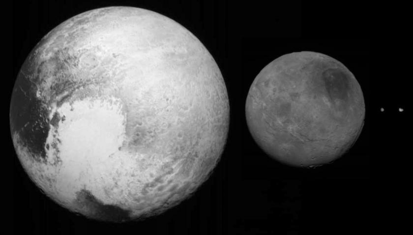 Pluto system family portrait