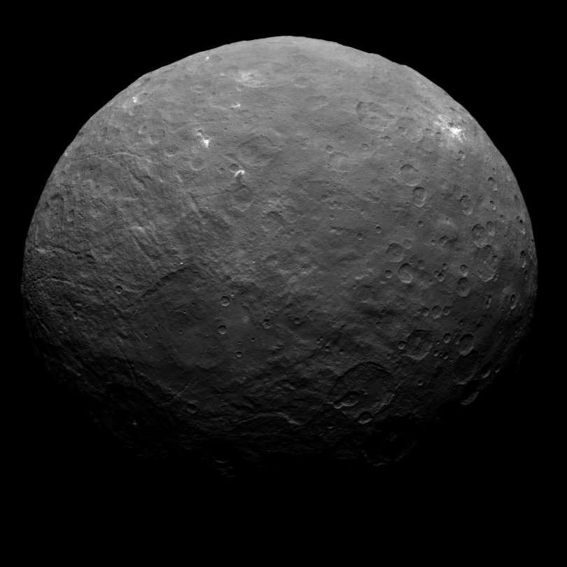 Ceres global view: White spots aplenty