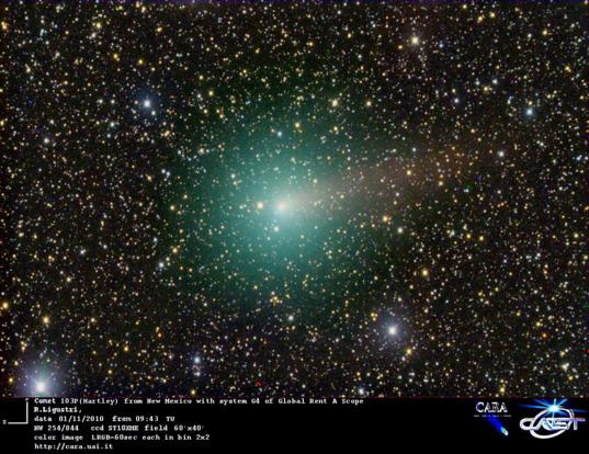 Comet 103P/Hartley 2