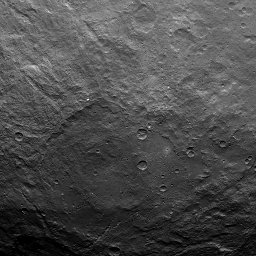 Ceres from Dawn's Survey Orbit