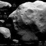 All asteroids and comets visited by spacecraft as of June 2010