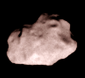 Lutetia from 80,000 kilometers